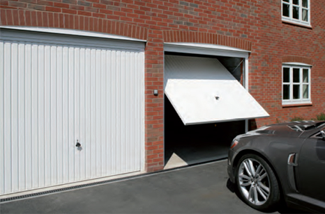 Garador Guardian Up and Over Garage Doors with Secured by Design specification