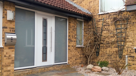 Insulated Front Entrance Doors