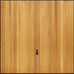 Garador Vertical Design Timber Up and Over Door